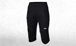 Goalkeeper Capri STRIKER black