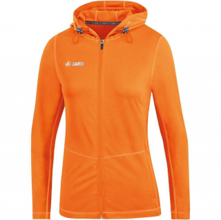 Kapuzenjacke Run 2.0 neonorange 164